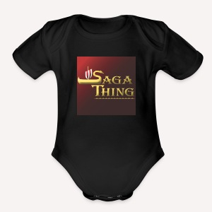 Saga Thing Baby - Short Sleeve Baby Bodysuit
