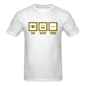 Eat, Sleep, Code - Men's T-Shirt