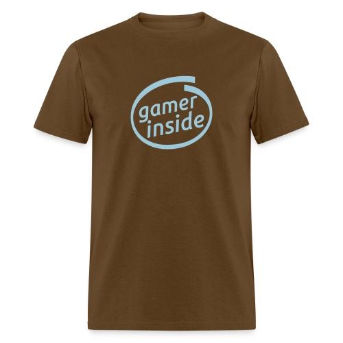 Intel- Gamer Inside logo - Men's T-Shirt