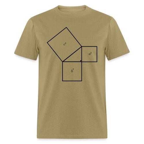 Pythagorean Theorem - Men's T-Shirt