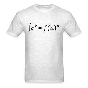 Sex = Fun written in math - Men's T-Shirt