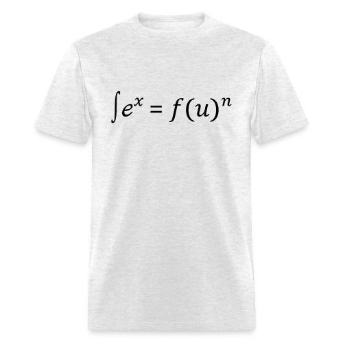 Sex = Fun written in math - Men's T-Shirt