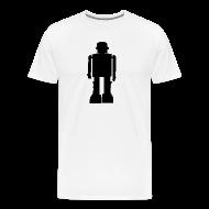 T-Shirts ~ Men's Premium T-Shirt ~ Casual Ghosts Robot T-shirt
