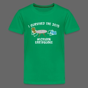 I Survived Michigan Earthquake - Kids' Premium T-Shirt