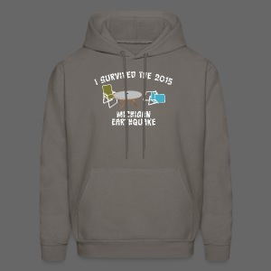 I Survived Michigan Earthquake - Men's Hoodie