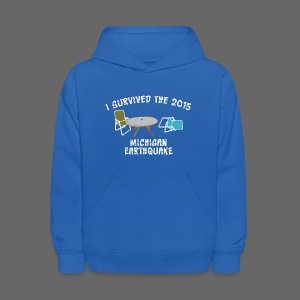 I Survived Michigan Earthquake - Kids' Hoodie