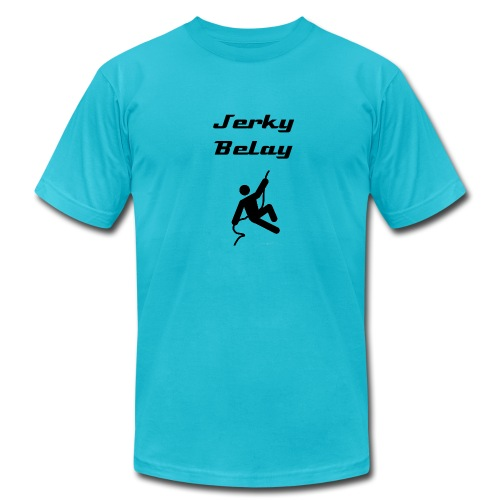 Jerky Belay - Men's Fine Jersey T-Shirt