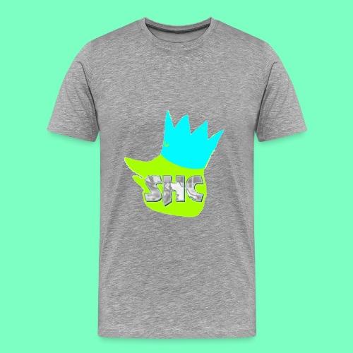 StrikerHero Camo Men's Shirt  - Men's Premium T-Shirt