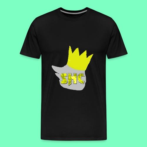 StrikerHero Camo Gold/Silver LIMITED Men's Shirt  - Men's Premium T-Shirt