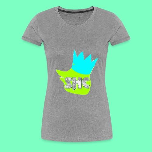 StrikerHero Camo Woman's Shirt - Women's Premium T-Shirt