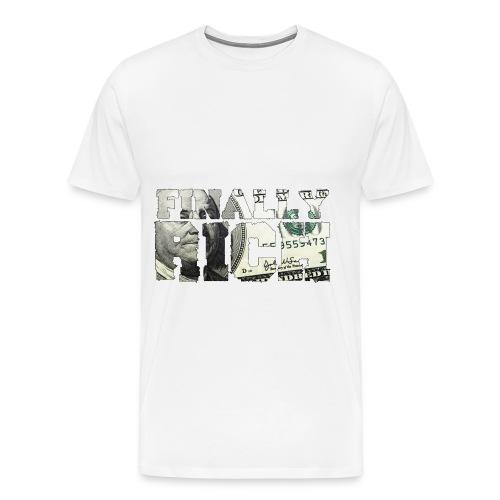 Finally Rich Logo - Men's Premium T-Shirt