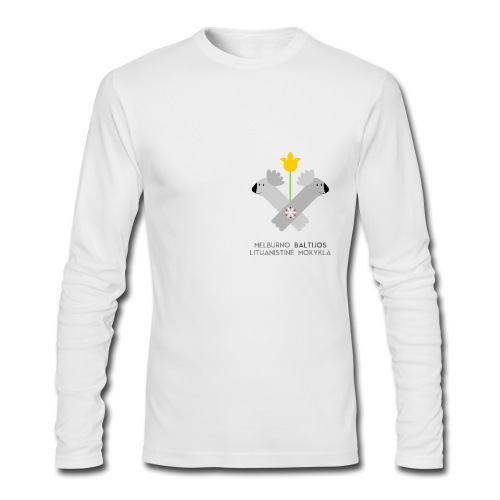 Vyriška - Men's Long Sleeve T-Shirt by Next Level