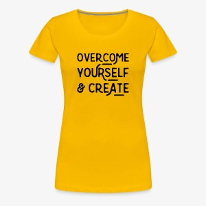 Overcome Yourself - Women's Premium T-Shirt
