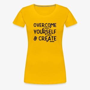 Overcome Yourself - Women's Premium T-Shirt
