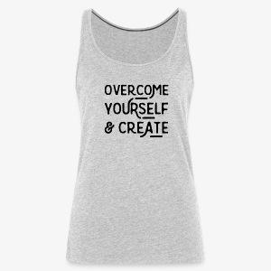 Overcome Yourself - Women's Premium Tank Top