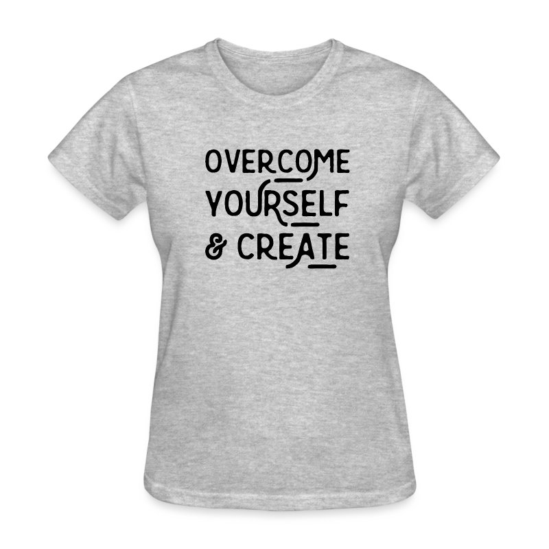 Overcome Yourself - Women's T-Shirt