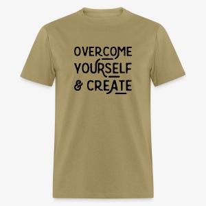 Overcome Yourself - Men's T-Shirt