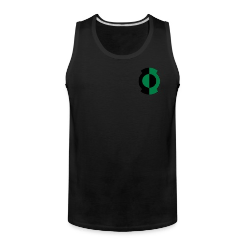 Kyle Lantern on Black Tank - Men's Premium Tank
