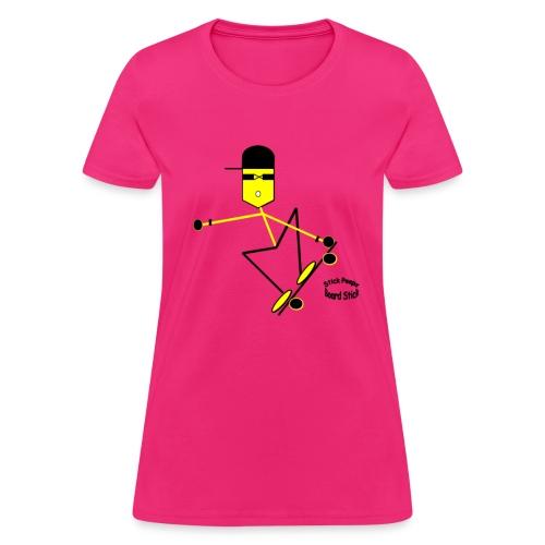 Board Stick - Women's T-Shirt