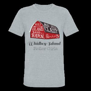 WIRG Barn Unisex T-Shirt - Unisex Tri-Blend T-Shirt
