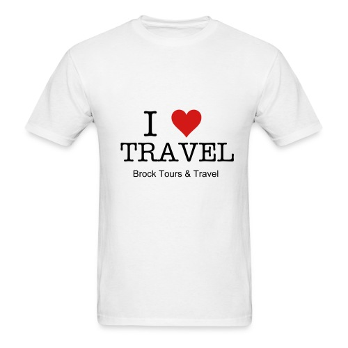 I Love Travel - Men's T-Shirt
