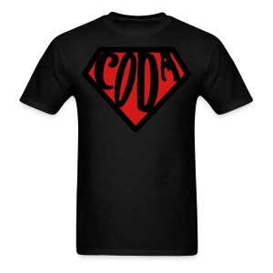 SuperCoda - dark style - Men's T-Shirt