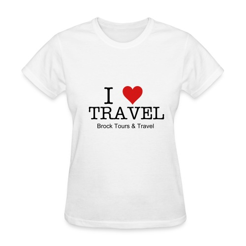 I Love Travel - Women's T-Shirt