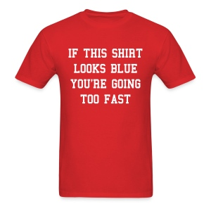 If this shirt looks blue... - Men's T-Shirt