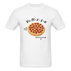 Volume of pizza - Men's T-Shirt