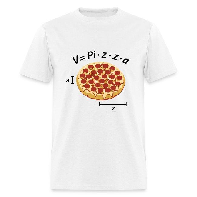 Volume of pizza