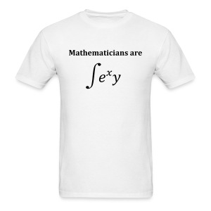 Mathematicians are sexy - Men's T-Shirt