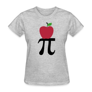 Apple Pi (F) - Women's T-Shirt