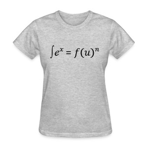 Sex = Fun written in math (F) - Women's T-Shirt