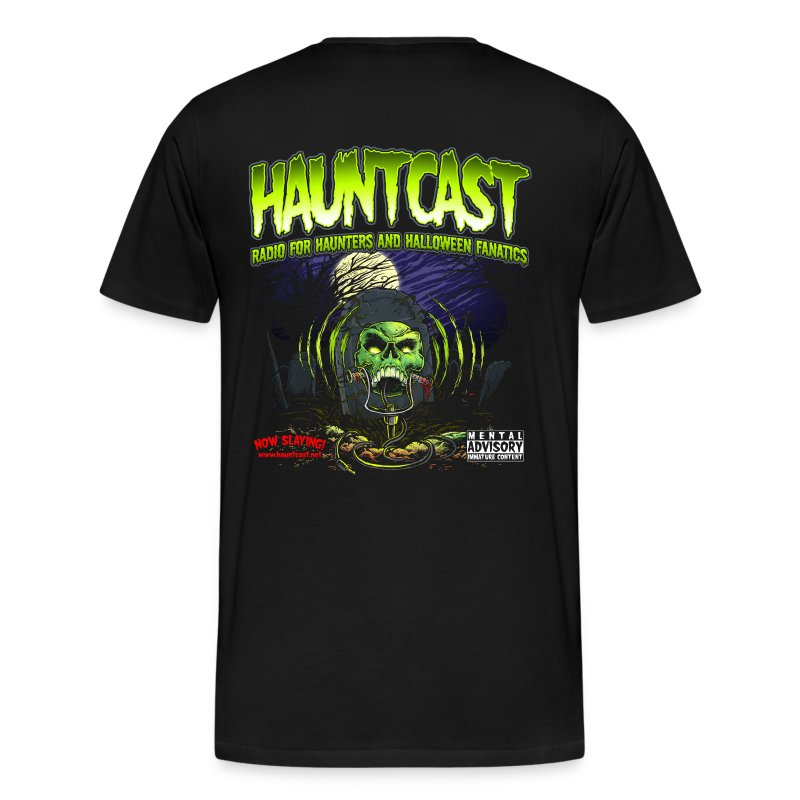 Hauntcast T - Logo on back - Men's Premium T-Shirt