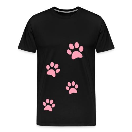 Puppy Paws - Men's Premium T-Shirt