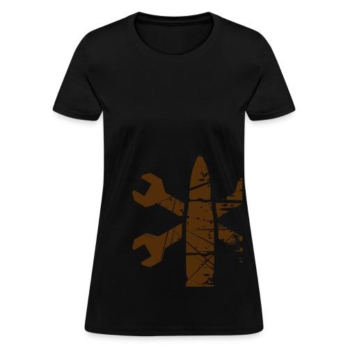 Greaser Faction Shirt (Women's) - Women's T-Shirt