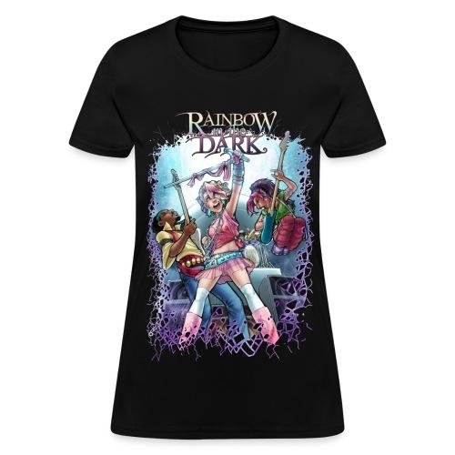 Rainbow in the Dark EPIC ROCK women's - Women's T-Shirt