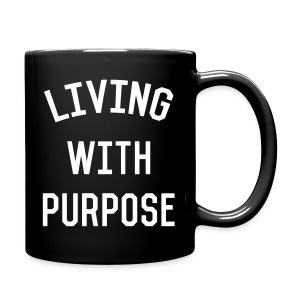 Living with purpose - Full Color Mug