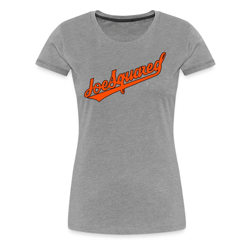 Joe Squared O's Women's Grey - Women's Premium T-Shirt