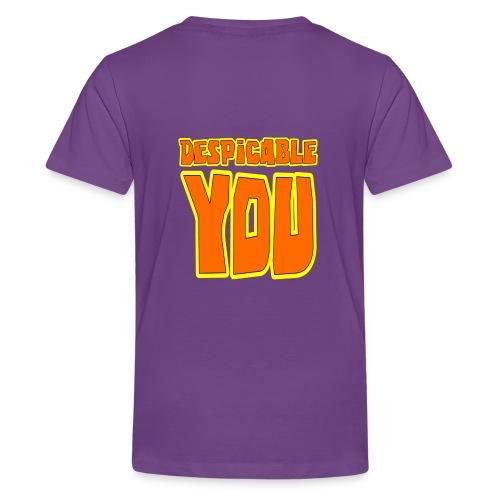 Purrple minion- Despicable You - Kids' Premium T-Shirt