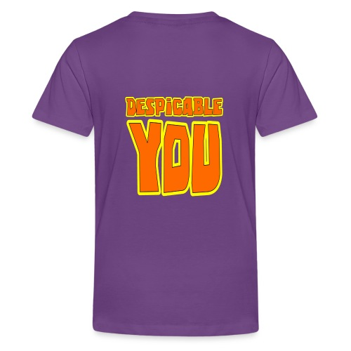 Purrple minion- Despicable You - Kids' Premium T-Shirt