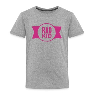 Rad Kid Pink Velvet - Toddler Premium T-Shirt