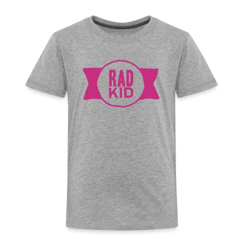 Rad Kid Pink Velvet - Toddler Premium T-Shirt