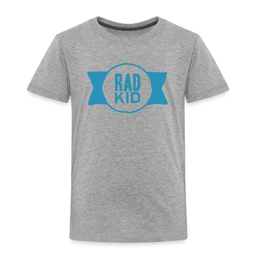 Rad Kid Blue Velvet - Toddler Premium T-Shirt