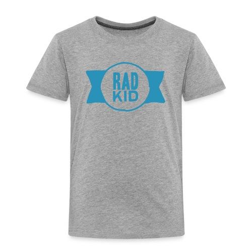 Rad Kid Blue Velvet - Toddler Premium T-Shirt
