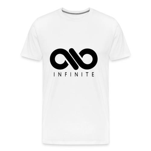 INFINITE White Tee - Men's Premium T-Shirt