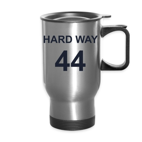 Hard Way 44 travel mug - Travel Mug
