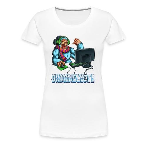 ShrapnelYeti Women's Tshirt - Women's Premium T-Shirt