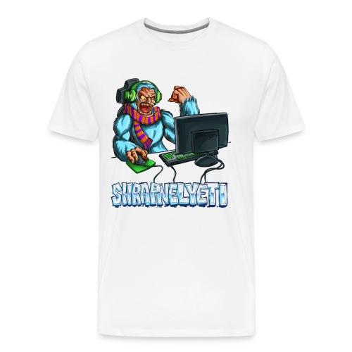 ShrapnelYeti Men's Tshirt - Men's Premium T-Shirt