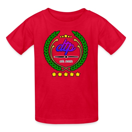 Kids dtp wreath T - Kids' T-Shirt